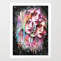 Find Them Art Print