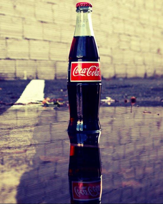 Coca-Cola Reflection Art Print