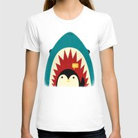 penguin T-shirts featuring Hi! by Jay Fleck