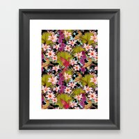 tropical lilly Framed Art Print