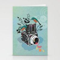 Vintage Camera Hasselbla… Stationery Cards