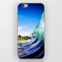 Wave Wall iPhone & iPod Skin