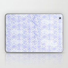 Periwinkle Damask Laptop & iPad Skin