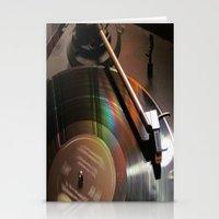 Vinyl Rainbow Stationery Cards