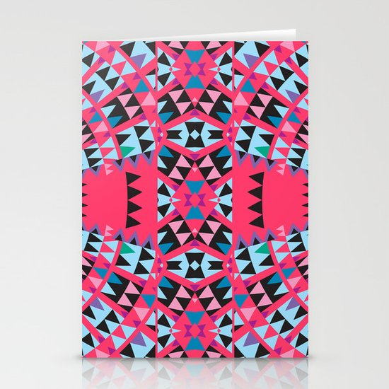 Pink Stationery Card