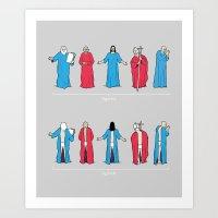 Historical Snuggie-Weare… Art Print