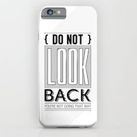 iPhone & iPod Case featuring Do Not look back... by Naniii