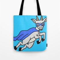 The Mighty Flash Goat Tote Bag