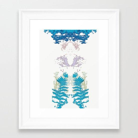 Botanic Body Framed Art Print