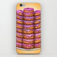 Donuts II 'Bon Appetit H… iPhone & iPod Skin