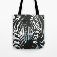 Eye Of Contrast {Zebra L… Tote Bag