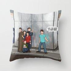 That Handy-Dandy Perception Filter Throw Pillow