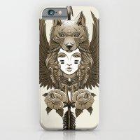 iPhone & iPod Case featuring Native girl (light version) by pakowacz