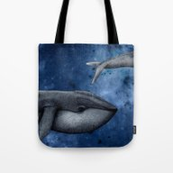 The Whale Who Met  Itsel… Tote Bag