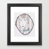 elanor. Framed Art Print