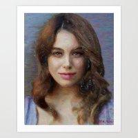 Unknown Beautiful Woman Art Print