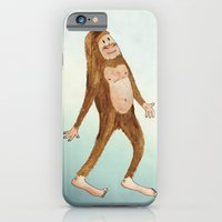 iPhone & iPod Case featuring Sasquatch by Stephanie Marie Steinhauer