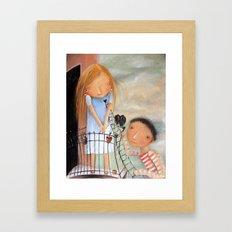 Julia Framed Art Print
