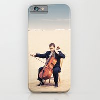 iPhone & iPod Case featuring Desert Cello by diane555