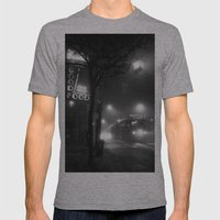 A Streetcar Named Noir Mens Fitted Tee Athletic Grey SMALL