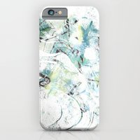 iPhone & iPod Case featuring Icy Texture by AJJ ▲ Angela Jane Johnston