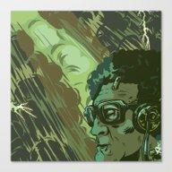 Blackinstein Canvas Print