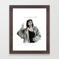 Mia Wallace  Framed Art Print
