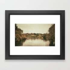 Lake in Ireland Framed Art Print