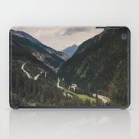 in the mountains iPad Case