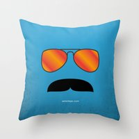MAGNUM (Tom Selleck) Throw Pillow