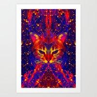 Atziluth-Lady Jasmine  Art Print