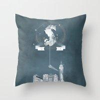 Sick (logo) Throw Pillow