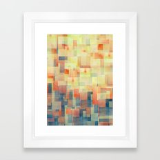 Cubism Dream (Brush Fire… Framed Art Print
