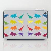 Dino Parade 2 iPad Case