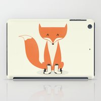 A Fox With Socks iPad Case