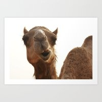 I Am Smiling! Art Print
