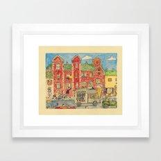 The Amazing Amazon Framed Art Print