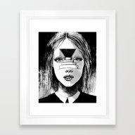 Beyond The Shadows Framed Art Print