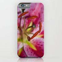 Pink Lily. iPhone 6 Slim Case