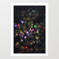 Starry Starry Night Neon… Art Print