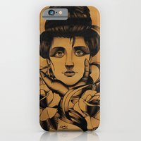 WOMAN And Roses - TATTOO iPhone 6 Slim Case