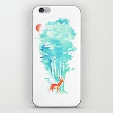 Summer in the Woods iPhone & iPod Skin