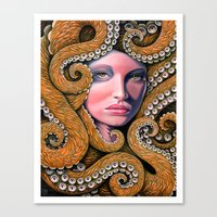 Octopussy Canvas Print