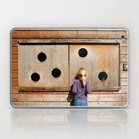 Curious Girl Laptop & iPad Skin