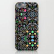 Retro Confetti iPhone 6 Slim Case