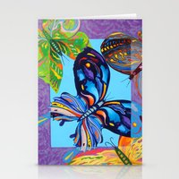 Butteflies are Free to Fly Stationery Cards