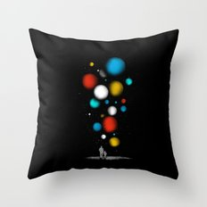 The Worlds Ahead of You Throw Pillow