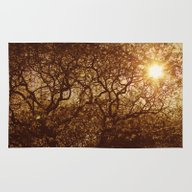 Shining Through The Tree… Rug