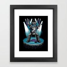 Jukebox Hero Framed Art Print