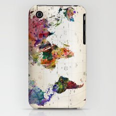 Map iPhone (3g, 3gs) Slim Case